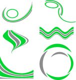 Set of Company Logos. Stock Image