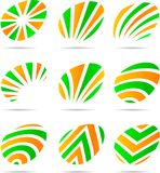 Set of Company Logos. Stock Photo