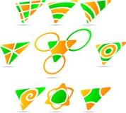 Set of Company Logos. Stock Photography