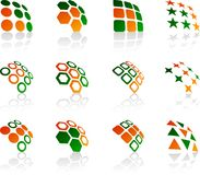 Set of Company symbols. Stock Images
