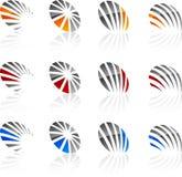 Set of Company symbols. Stock Images