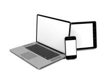 Set of Computer Equipment. Stock Image