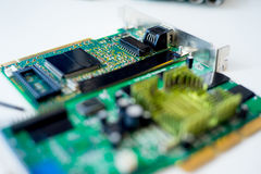 Set of computer hardware Stock Images