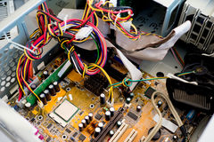 Set of computer hardware Stock Photos