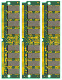 Set of Computer RAM Cards Stock Images
