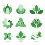 Set con of ecology Stock Photo