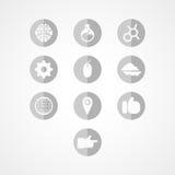 Set concept web icon Royalty Free Stock Photos