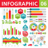 Infographic Elements 06 Stock Image