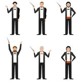Set of Conductors Royalty Free Stock Photo