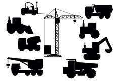 Set Of Construction Equipment Stock Photo