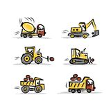 Set of construction equipment for your design Stock Photo