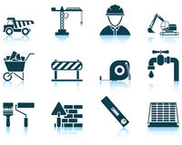 Set of construction icon Stock Photos