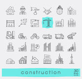 Set of construction icons. Stock Photo