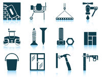 Set of construction icons Royalty Free Stock Photo