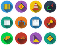 Set of construction icons Royalty Free Stock Photos