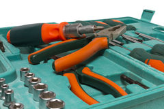 Set of construction tools. Stock Photography