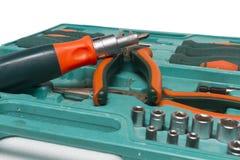 Set of construction tools. Royalty Free Stock Photos