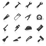 Set of construction tools icons Royalty Free Stock Photo