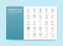 Set of Contact us Service Elements and Assistance Support can be. Used as Logo or Icon in premium quality Royalty Free Stock Photography