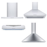 Set of cooker hoods Royalty Free Stock Images