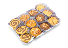 Set of Cookies In Package. Royalty Free Stock Image