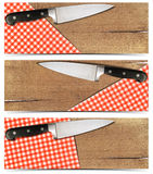 Set of Cooking Banners Royalty Free Stock Photos
