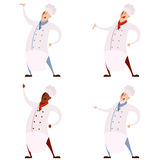 Set of cooks Royalty Free Stock Photo