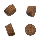Set of the cork bungles isolated over white Royalty Free Stock Photos