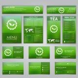 Set of corporate identity Stock Photography