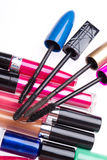 Set of cosmetic products Royalty Free Stock Image