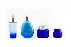 Set of cosmetic products Royalty Free Stock Photo
