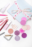 The set of cosmetics. Stock Images