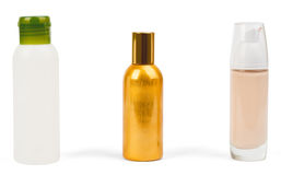 Set of cosmetics tubes Royalty Free Stock Image