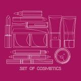 Set of cosmetics Stock Photography