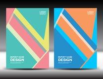 Set Cover design,cover annual report,brochure fl yer,book cover Stock Photo