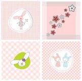 Set of covers. Set of colorful graphic illustrations Royalty Free Stock Photos