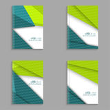 Set covers for magazine Royalty Free Stock Photography