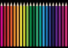 Set of Crayons Stock Photos