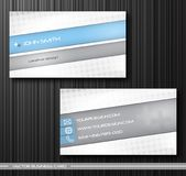 Set of creative business cards Royalty Free Stock Photos