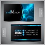Set of creative business cards Stock Photos