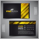 Set of creative business cards Stock Photography