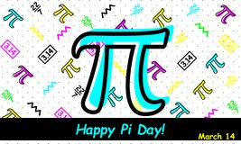Happy Pi Day - Vector vector illustration