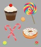 Set cukierki Zdjęcie Stock
