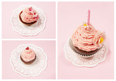 Set of cupcake Stock Images