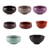 Set of cups of Chinese tea ceremony Royalty Free Stock Photos