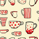 Set cups  Stock Image