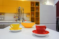 Set of cups Royalty Free Stock Photos