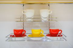 Set of cups Royalty Free Stock Images