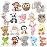 Set of Cute Animals stock illustration