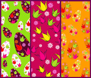 Set of cute Easter banners Royalty Free Stock Photo